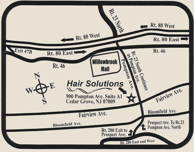 directions to hair solutions